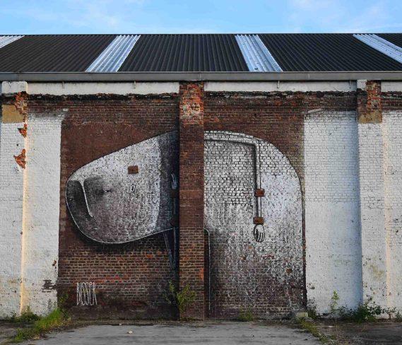 Bisser Street Art Leuven May 2016