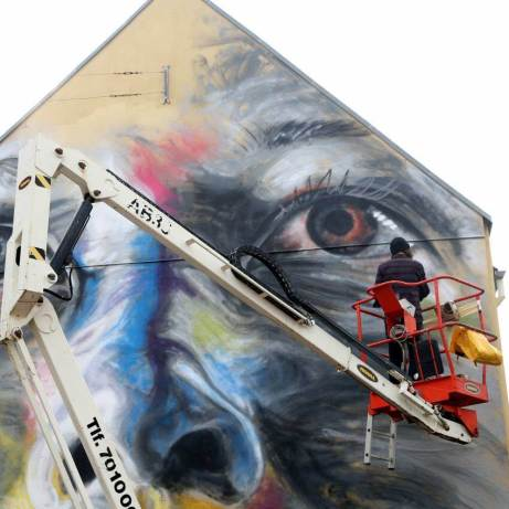David Walker Aalborg Street Art Photo © kirk gallery