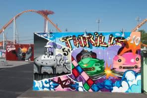 Daze Coney Art Walls NYC Photo © Martha Cooper