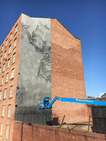 Faith47 - Cities of Hope Street Art 2016 Photo © Northern Quarter, Manchester