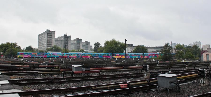 Kenor, Metro train, Kiev