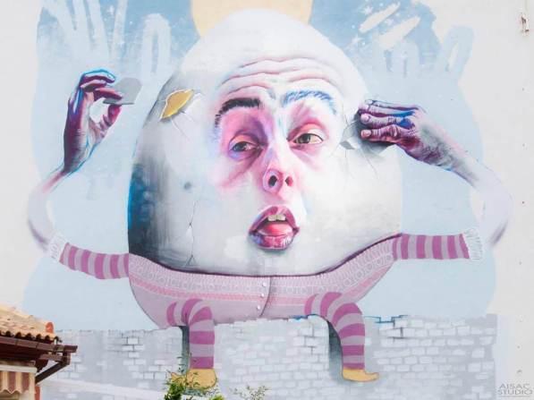 Dan Ferrer Street Art festival Mar Menor Los Alcazares