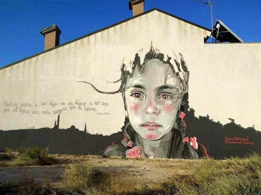 Pichiavo Street Art festival Mar Menor Los Alcazares