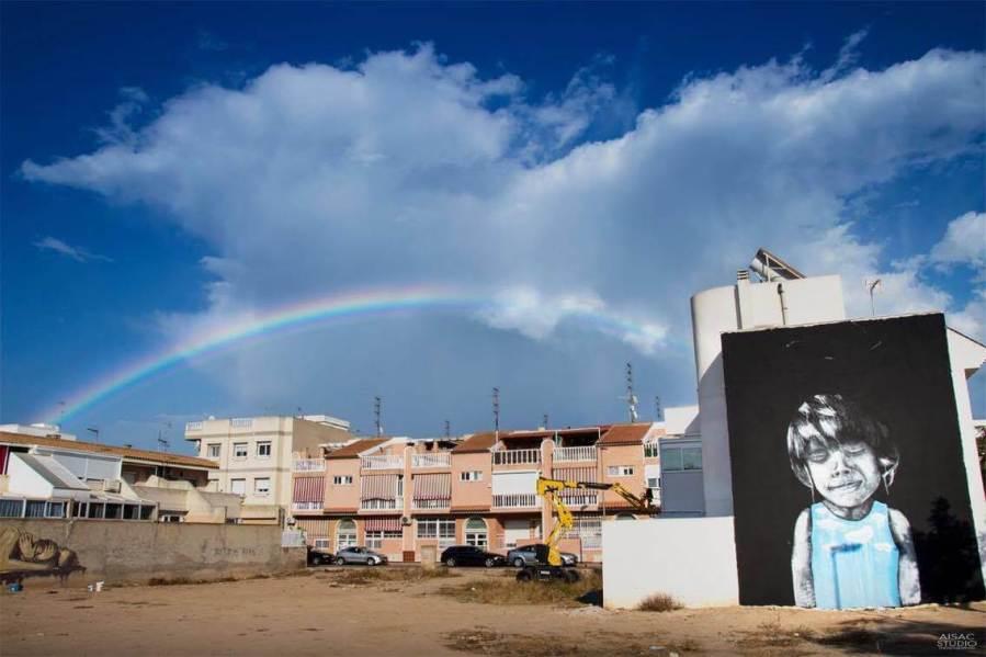 Jorge Pina Street Art festival Mar Menor Los Alcazares