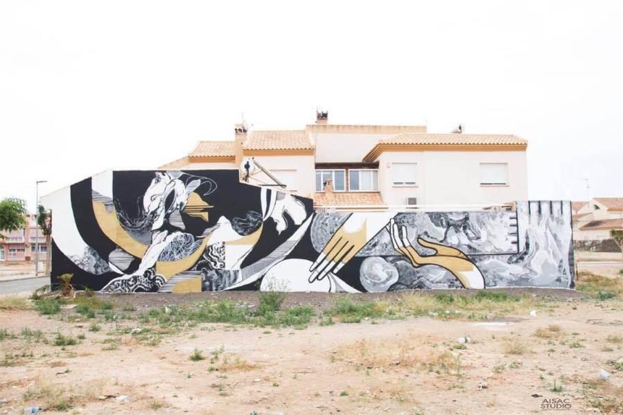 Wesr Street Art festival Mar Menor Los Alcazares