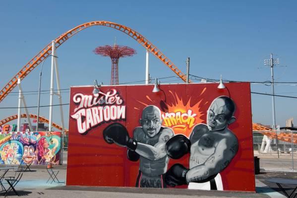 Mr. Cartoon Coney Art Walls NYC Photo © Martha Cooper