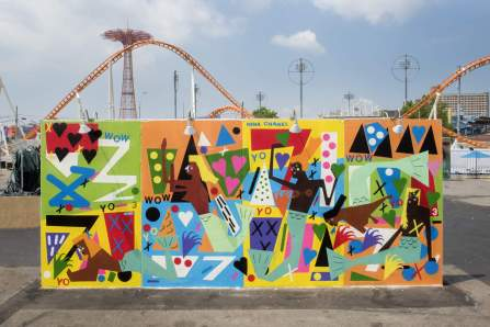 Nina Chabel Abney Coney Art Walls NYC Photo © Martha Cooper