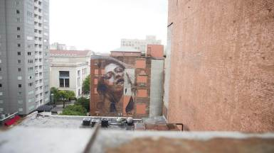Rone Nashville Walls Street Art Project Photo © Colin M Day