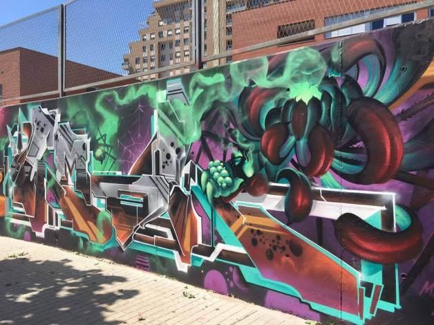 EMAK Mislatas Representan, Street Art & Graffiti, Valencia