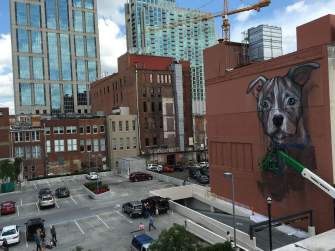 Herakut Nashville Walls Street Art Project