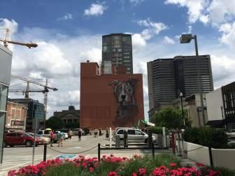 Herakut Nashville Walls Street Art Project