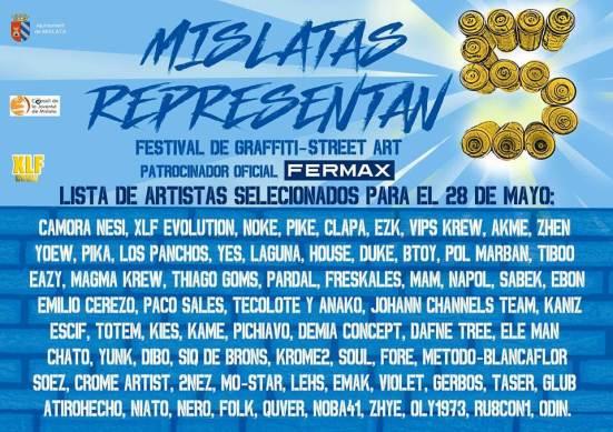 Mislatas Representan Street Art Festival, Valencia, Spain