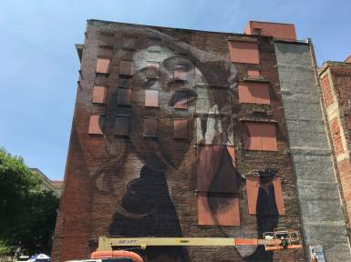 Rone Nashville Walls Street Art Project