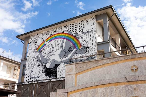 Millo, Impronte Street Art Festival photo © Antonio Sena