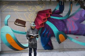 Curiot, RFK Street Art Mural Photo © _j47r_
