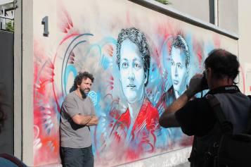 C215 ,Grenoble Street Art Fest