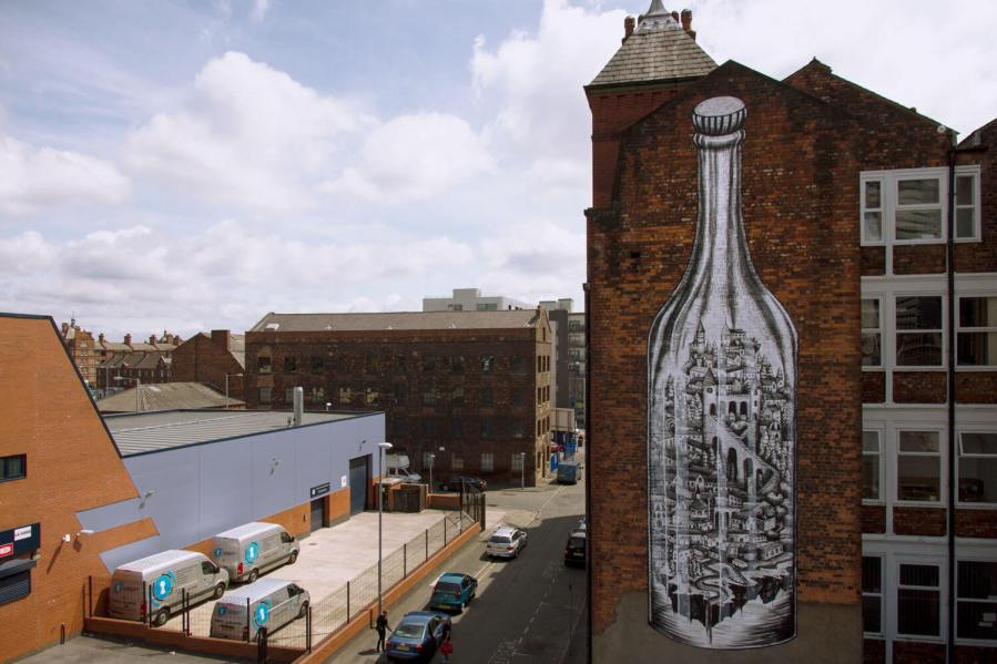 Phlegm, Cities of Hope, Manchester Photos © Henrik Haven