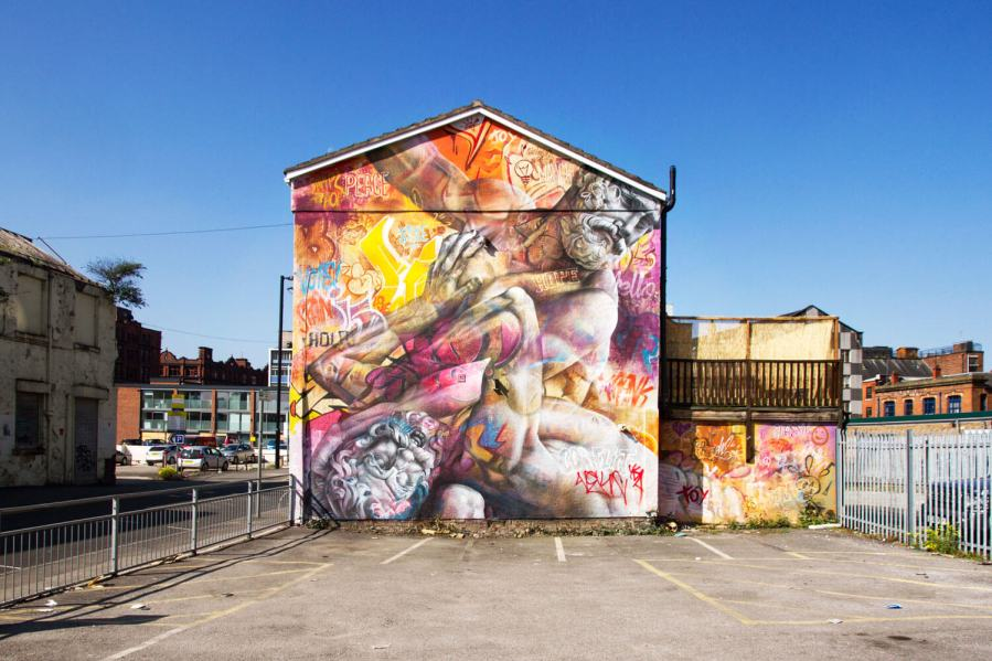 PichiAvo, Cities of Hope, Manchester Photo © Henrik Haven