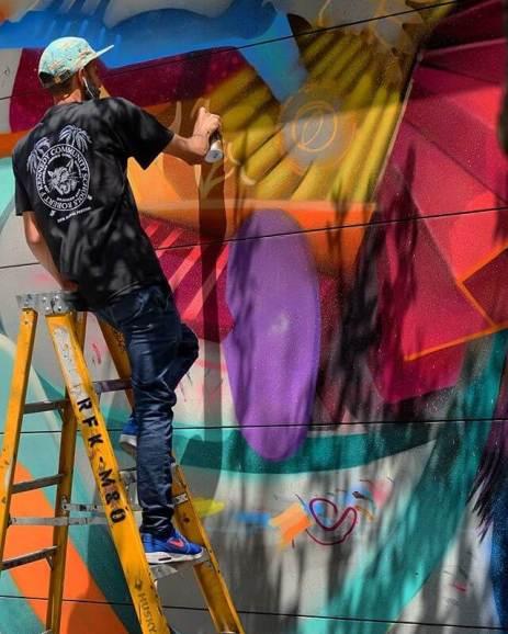 Curiot RFK Street Art Mural Photo © Branded Arts