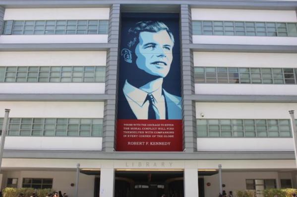 Shepard Fairey, RFK Street Art Mural Photo © Branded Arts