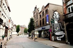 LIER UP Street Art Project - Joachim and Sawer