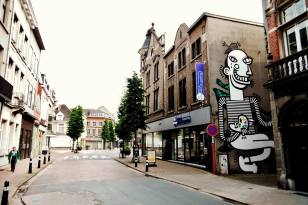 LIER UP Street Art Project - Joachim and Sawer