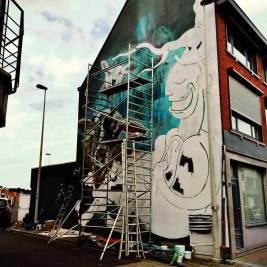 smok joachim street art lier up belgium