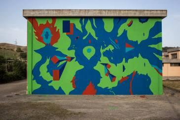 Aris, Altrove Street Art Festival, Catanzaro 2016 Photo © Angelo Jaroszuk Bogasz