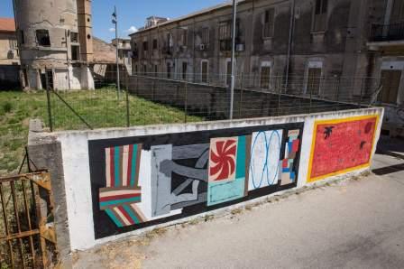 Ekta, Altrove Street Art Festival, Catanzaro 2016 Photo © Angelo Jaroszuk Bogasz