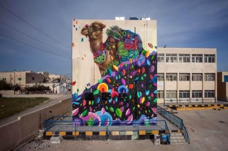 Ernesto Maranje, Street Art, Jordan