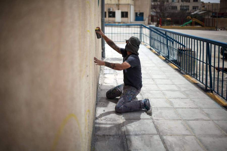 Ernesto Maranje, Street Art, Jordan. Photo credit aptART.