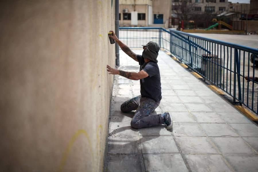 Ernesto Maranje, Street Art, Jordan. Photo credit aptART.