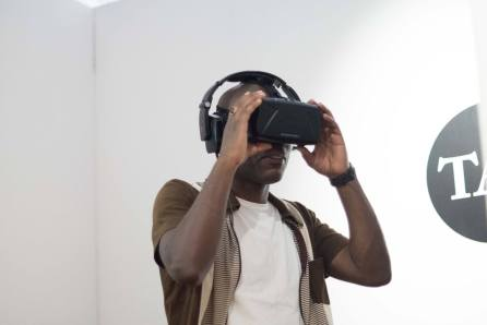 Virtual Awakening, Jose Montemayor, The Art Conference 2016. Photo © Erhan Korkmen