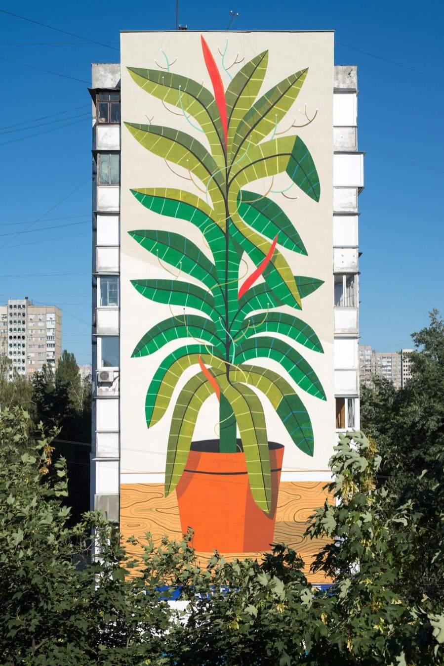 street art kiev mural social club ukraine Agostino5