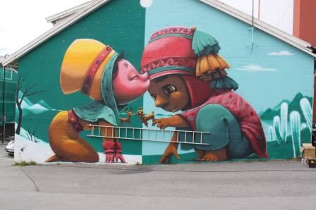 Animalito, UpNorth Street Art Festival, Bodø, Norway