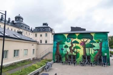 HENRIETTA, Artscape Gothenburg Street Art Festival 2016. Photo Credit Fredrik Åkerberg