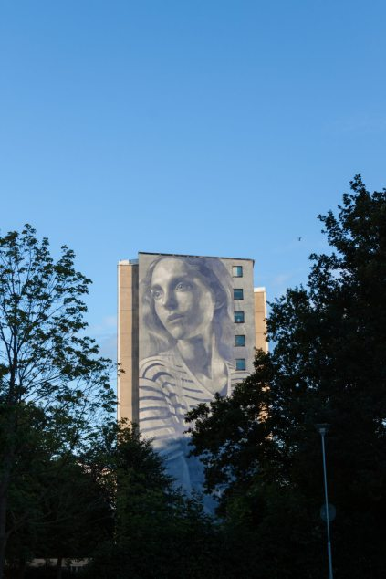 RONE, Artscape Gothenburg Street Art Festival 2016. Photo Credit Fredrik Åkerberg