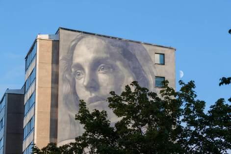 RONE, Artscape Gothenburg Street Art Festival 2016. Photo Credit Fredrik Åkerberg