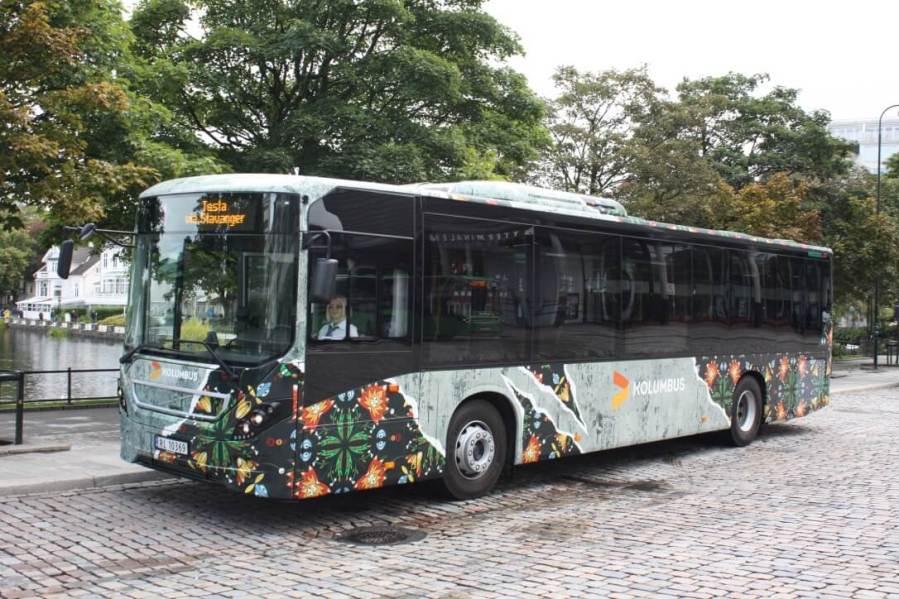 Nuart street art Gatekunstbuss Add Fuel bus1