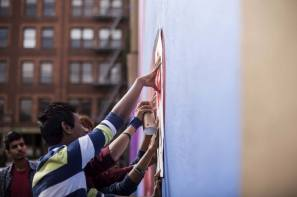 Paint outside the lines project, Portland. Photo credit aptART