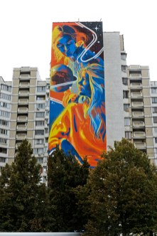 Dourone, Art United Us, Street art Kiev, Ukraine. Photo credit artist