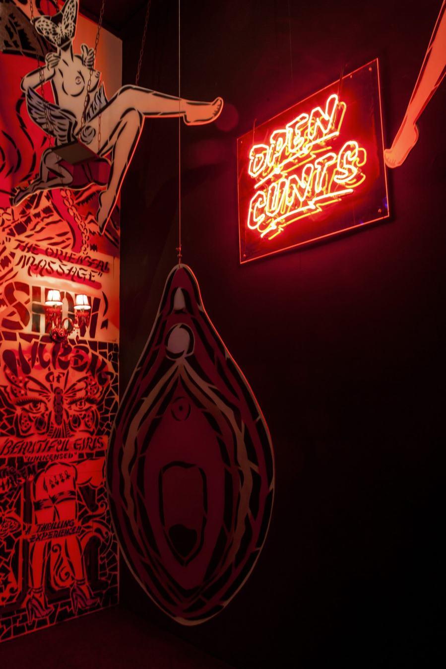 Aiko, Magic City, Street Art Exhibition, Dresden, Germany. Photo Credit Rainer Christian Kurzeder