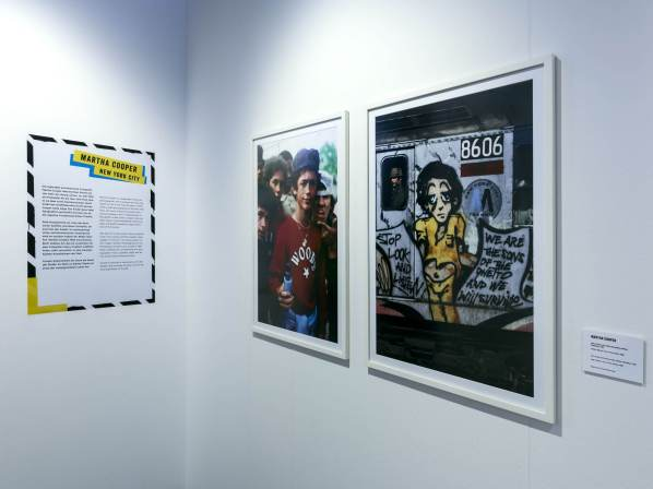 Martha Cooper, Magic City, Street Art Exhibition, Dresden, Germany. Photo Credit Rainer Christian Kurzeder