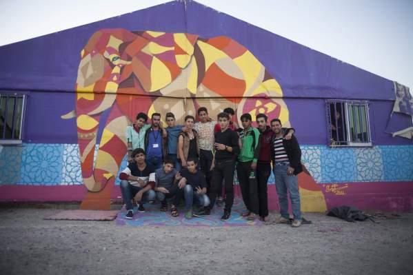 Street Art Mural, AptART, Jordan 2016