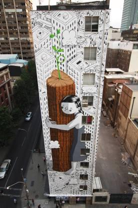 Millo, Street Art Santiago. Photo Credit Hecho en Casa