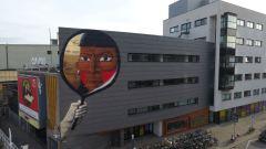 Nunca, Heerlen Murals, Street Art Netherlands. Photo Credit Heerlen Murals / Nunca