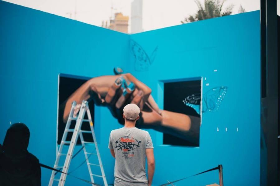 Dubai Canvas, 3D Street Art Festival 2017