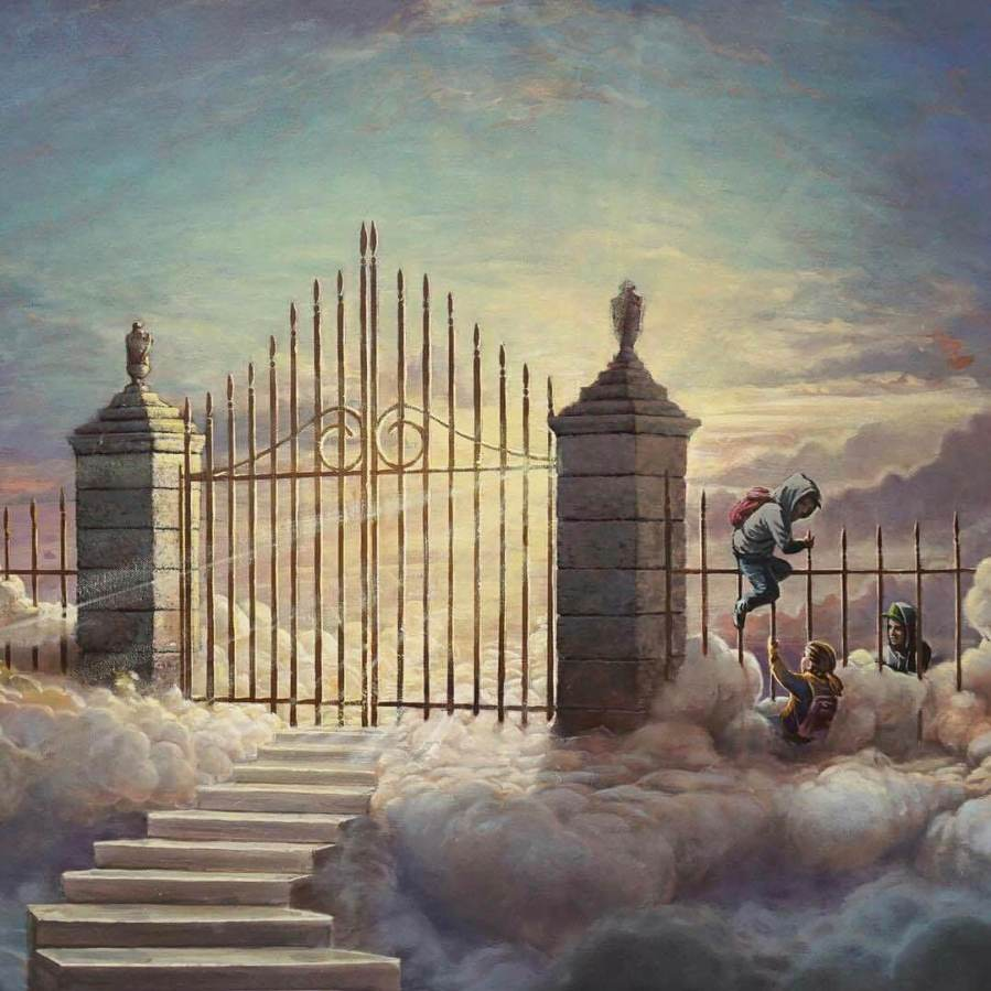 banksy-pearly-gates-children-walled-off-hotel