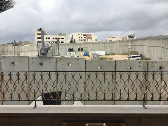 Banksy Walled off Hotel, Rooms with a view, Bethlehem.