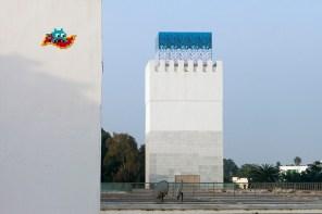 Space Invader RBA_12, Invasion of Rabat. Photo credit Invader